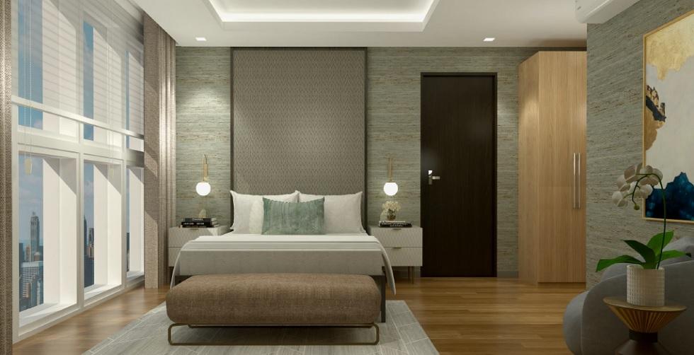 Parkford Suites Legazpi - 2 BR Masters Bedroom