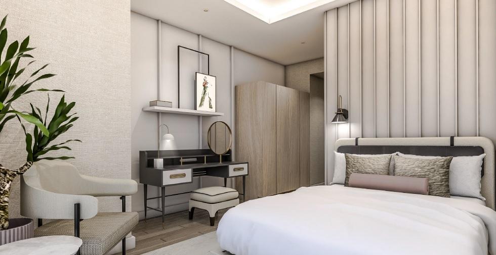 Parkford Suites Legazpi - 3 BR Bedroom
