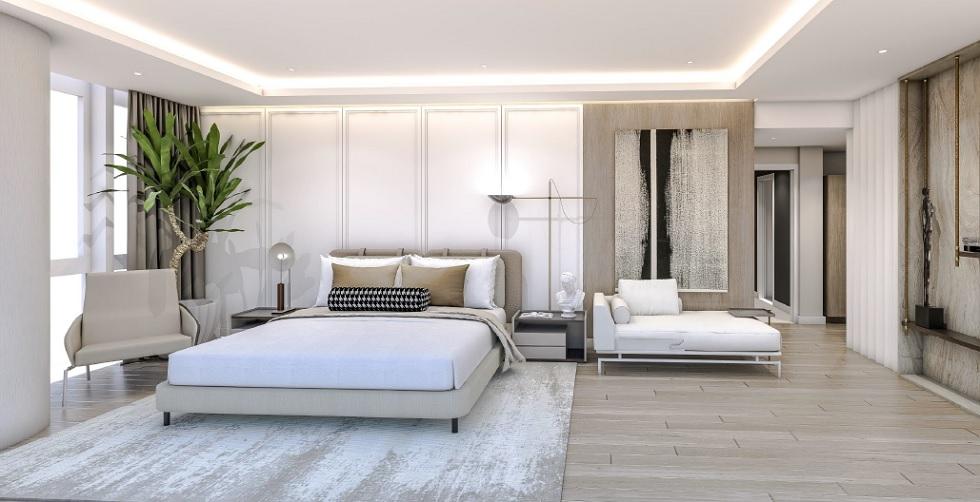 Parkford Suites Legazpi - 3 BR Masters Bedroom