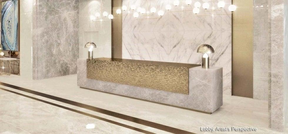 Gem Residences - Reception Lobby