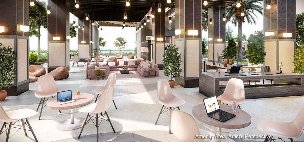 Gem Residences - Lounge Area