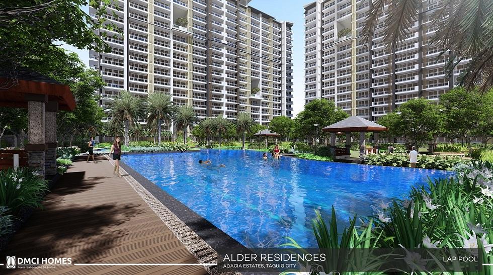 Alder Residences - Lap Pool