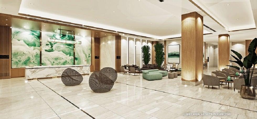 Mint Residences - Reception Lobby