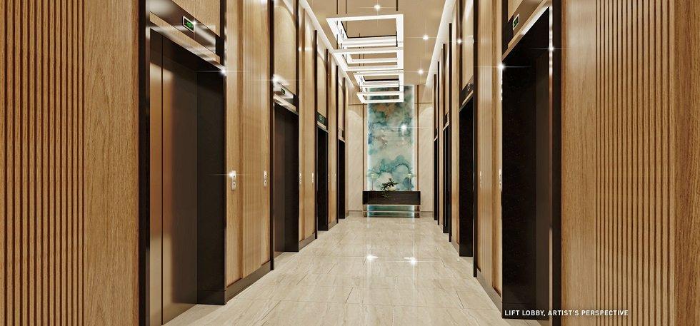 Mint Residences - Lift Lobby
