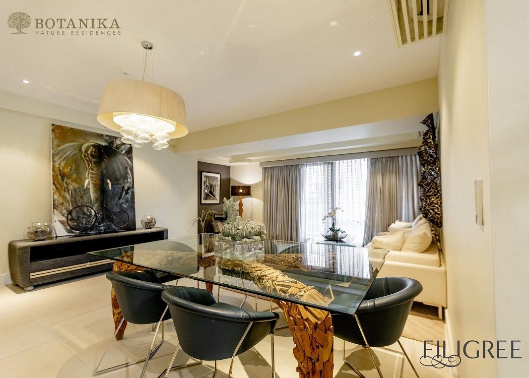 Botanika Nature Residences - 3 BR Living and Dining Area
