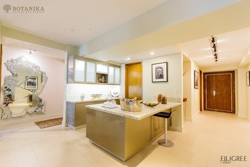 Botanika Nature Residences - 3 BR Model Unit Kitchen