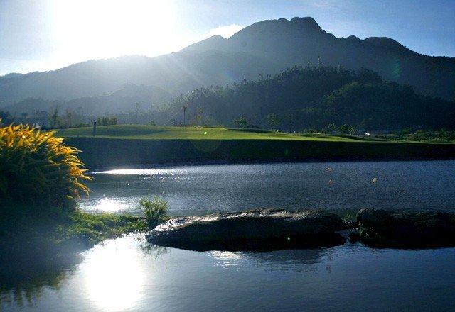 Ayala Greenfield Estates - View of Mt. Makiling