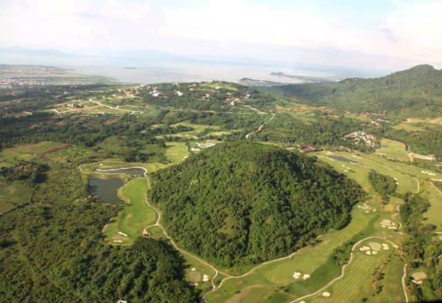 Ayala Greenfield Estates - Aerial View of Golf Course