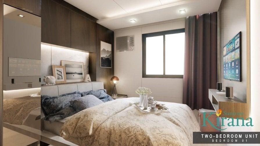 Kirana - 2 BR Master's Bedroom