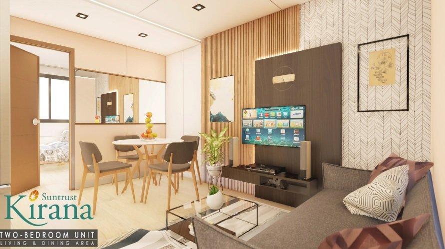 Kirana - 2 BR Living Room