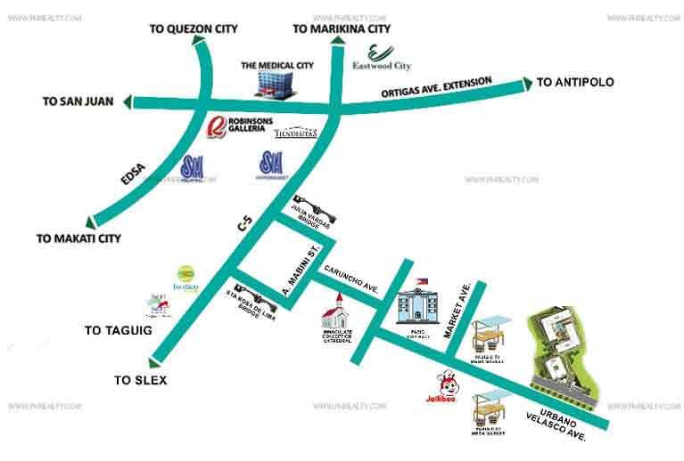 Kirana - Location Map
