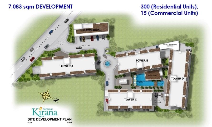 Kirana - Site Development Plan