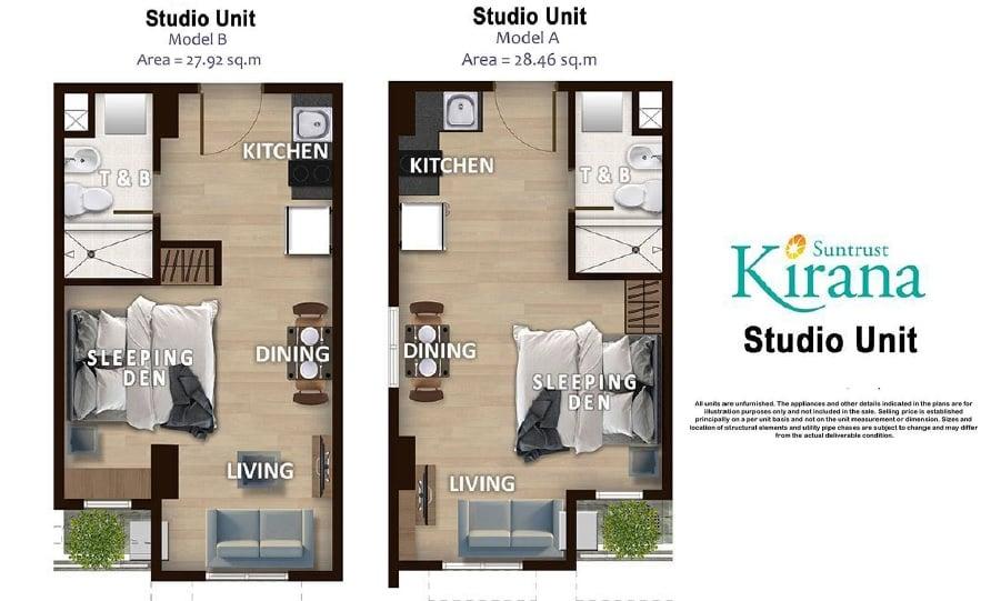 Kirana - Studio Unit Plan
