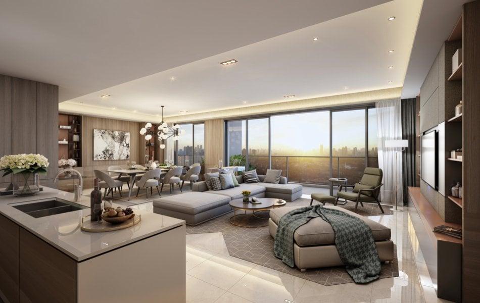 Parklinks North Tower - 3BR West Sky Suite Master Bedroom