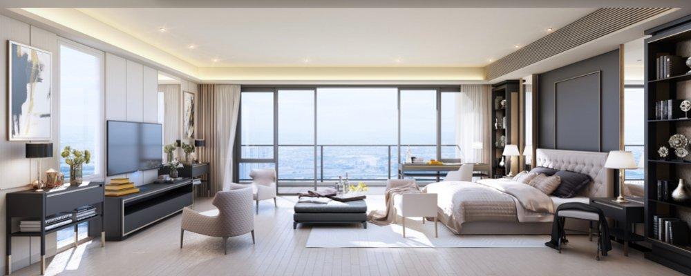 Parklinks North Tower - 4BR Sky Villa Master Suite