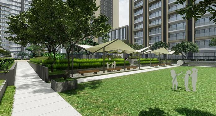 Gardencourt Residences - Lawn Area