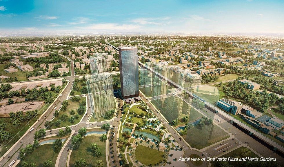 One Vertis Plaza - Aerial View