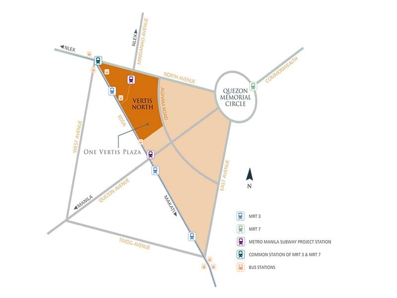One Vertis Plaza - Location Map