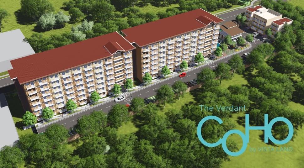 Camella Manors Verdant - Aerial View