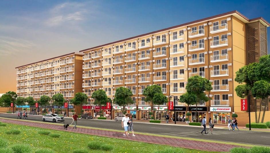 Camella Manors Verdant - Building Facade