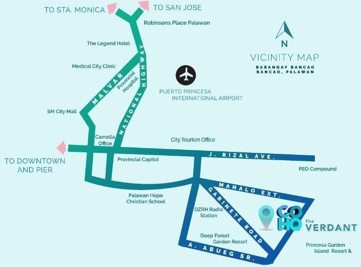 Camella Manors Verdant - Location Map