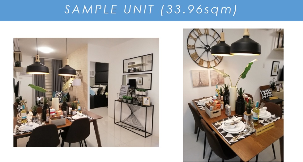 Camella Manors Verdant - Sample Dressed Up Unit