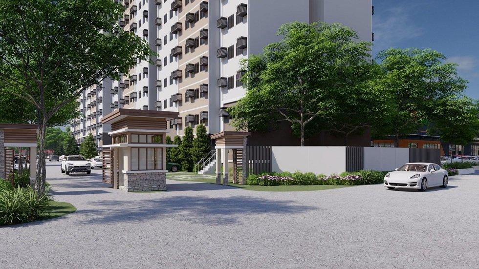 Camella Manors Caloocan - Entrance Area