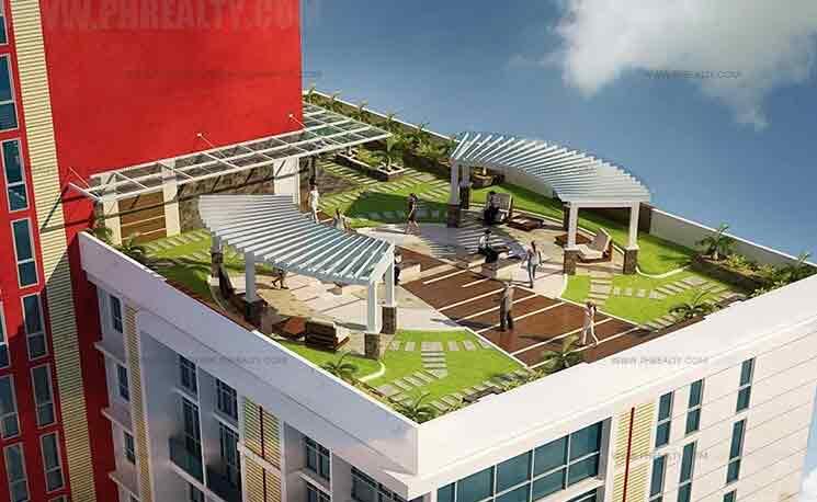Sunshine 100 City Plaza Pioneer - Landscaped Viewdecks