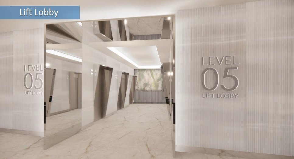 Ice Tower - Lift Lobby