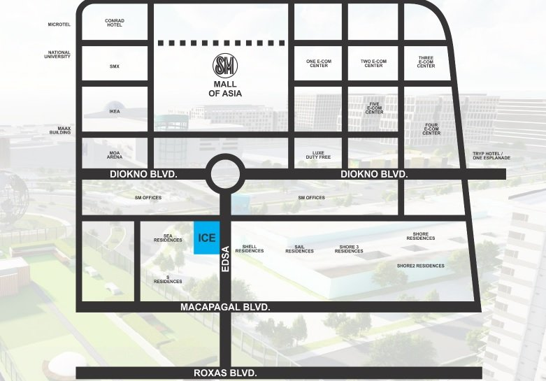 Ice Tower - Location Map