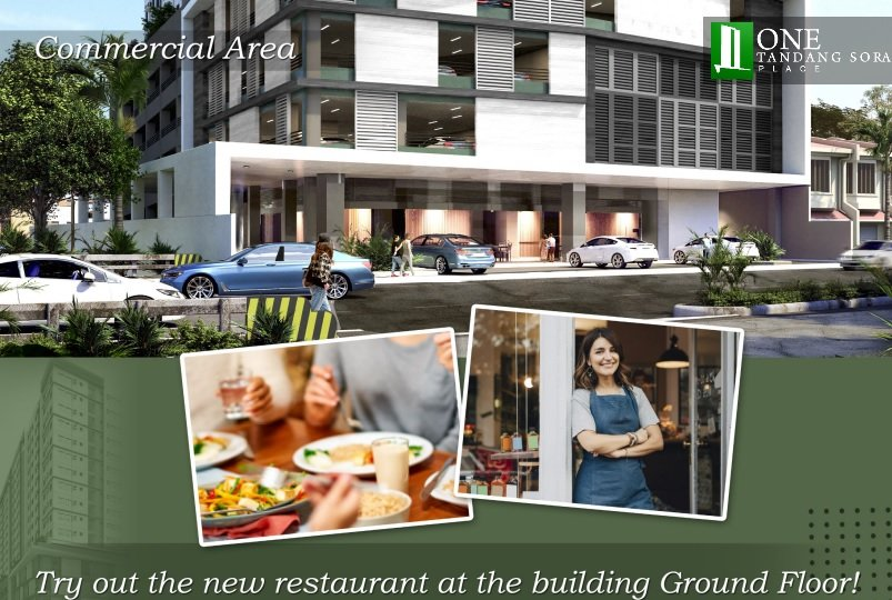 One Tandang Sora Place - Commercial Area