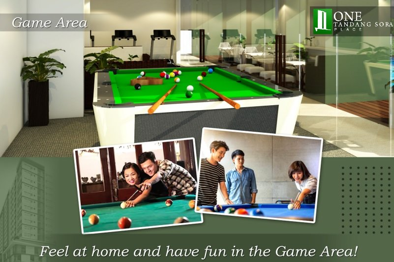 One Tandang Sora Place - Game Room