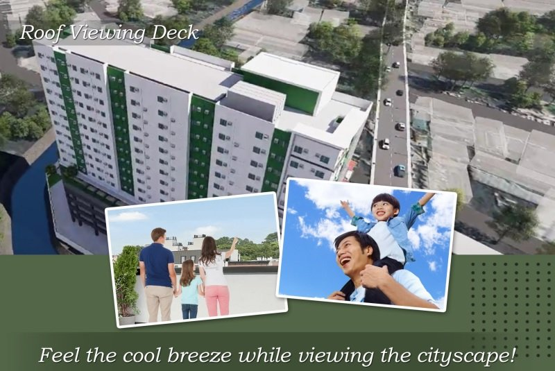 One Tandang Sora Place - Roof Viewing Deck
