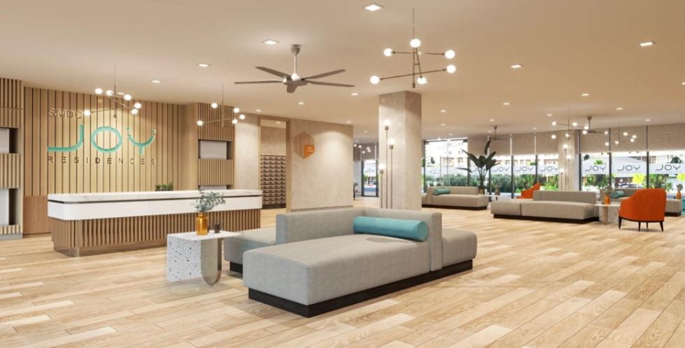 Joy Residences - Grand Lobby