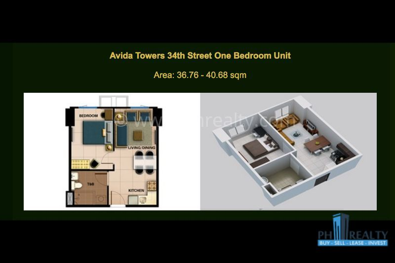 Avida Towers 34th Street BGC