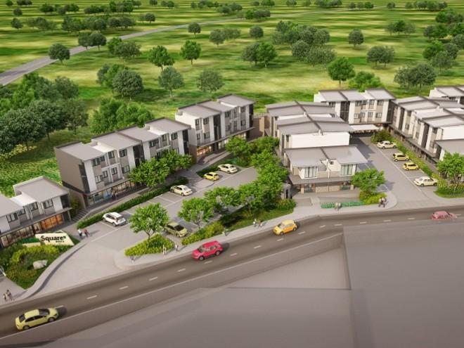 Amaia Square Nova - Aerial View