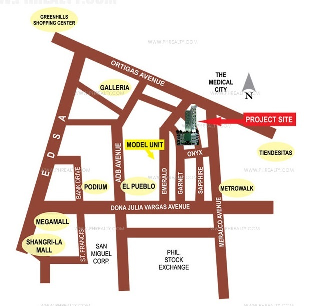 Eton Emerald Lofts - Location and Vicinity